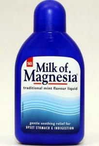 Milk of magnesia