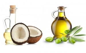 Olive oil and vitamin E oil