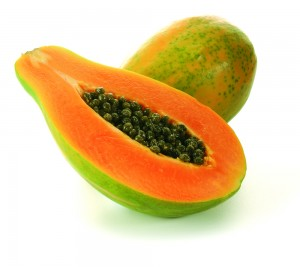 Papaya for Prickly Heat