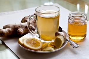 Ginger and Ginger tea